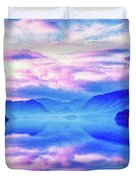 Into The Unknown Duvet Cover