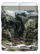 Into The Valley Duvet Cover