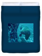 Into The Wild Blue Duvet Cover