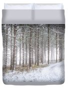 Into The Woods 3 - Winter At Retzer Nature Center  Duvet Cover