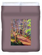 Into The Woods II Duvet Cover