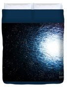 Into The Wormhole  Duvet Cover