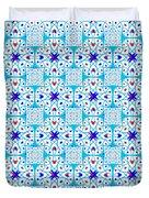 Intricate Geometric Pattern Duvet Cover