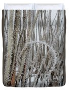 Intriguing Winter Frost Duvet Cover