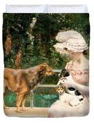 Introductions Duvet Cover by Charles Henry Tenre