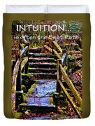 Intuition Duvet Cover