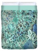 Intuition Unraveled Deep Ocean Duvet Cover