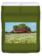 Poppy Invasion In Hillcountry-texas Duvet Cover