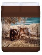 Invisible Lives Duvet Cover