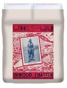 Inwood Chatter, 1943 Duvet Cover