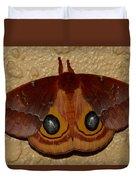 Io Moth Duvet Cover