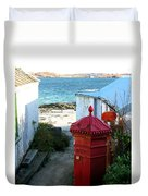 Iona Post Office Duvet Cover
