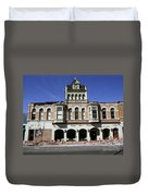 Watsonville I. O. O. F. Building Built In 1893  Damaged By The Loma Prieta Earthquake 1989 Duvet Cover
