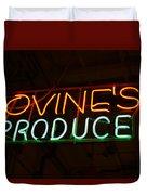 Iovines Produce Duvet Cover