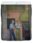 Iowa State Mural - 2 Duvet Cover