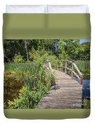 Ipswich River Bridge Duvet Cover