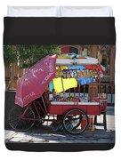 Iquique Chile Street Cart Duvet Cover