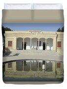 Iran Yazd Zorastrian Fire Temple Duvet Cover