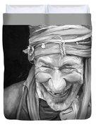 Iranian Man Duvet Cover by Enzie Shahmiri