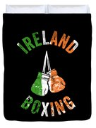 Ireland Boxing Color Light Boxers Irish Cool Gift Funny Flag Duvet Cover