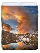 Ireland Lake Sunrise - Yosemite Duvet Cover