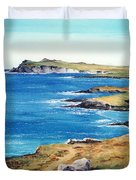 Ireland Sea Duvet Cover