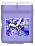 Iris 12 Duvet Cover