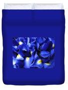 Iris Abstract Duvet Cover