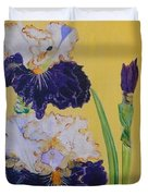 Iris Afternoon Delight Duvet Cover