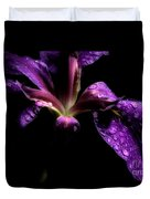 Iris Bloom Duvet Cover