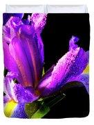Iris Bloom One Duvet Cover