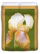 Iris Canary Frills Duvet Cover