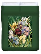 Iris Collection Duvet Cover