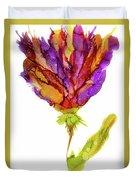 Iris Flower 2 Duvet Cover
