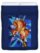Iris Flower Duvet Cover