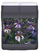 Iris Garden Duvet Cover