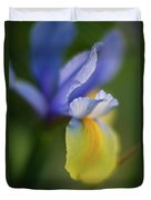 Iris Grace Duvet Cover by Mike Reid