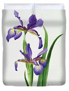Iris Monspur Duvet Cover