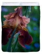 Iris Passion Duvet Cover
