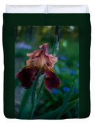Iris Passion Duvet Cover