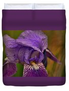 Iris Popping Out Duvet Cover