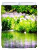 Iris' Reflection Duvet Cover