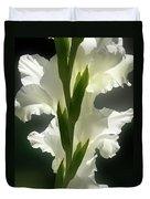 Gladiolus Spectacular #2 Duvet Cover