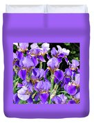 Iris Splendor Duvet Cover