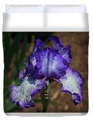 Iris Unraveled Duvet Cover