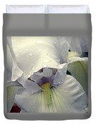 Iris With A Bonnet Series 7 Duvet Cover