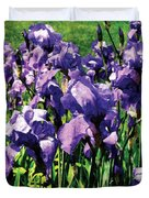 Irises Princess Royal Smith Duvet Cover