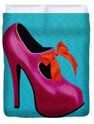Irish Burlesque Shoe    Duvet Cover