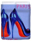 Irish Burlesque Shoes Duvet Cover