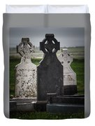 Irish Cemetery P7010429 Duvet Cover